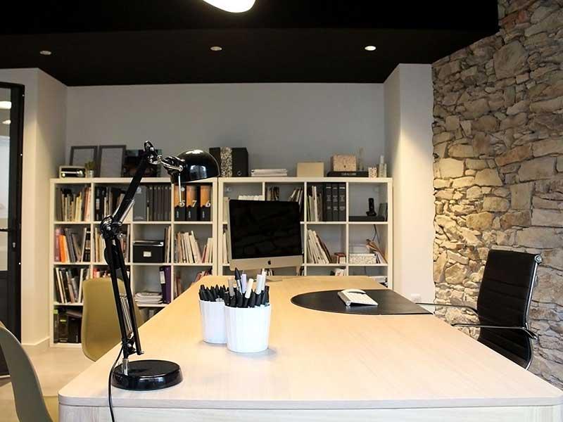 Architecture d'intérieur de bureaux en Loire-Atlantique par Backhome