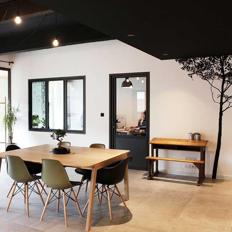 Backhome Nantes : architecture d'intérieur de nos locaux